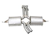 Mercedes Exhaust Muffler - Ansa 1264905915A