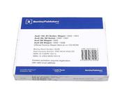 Audi CD-ROM Repair Manual - Robert Bentley AU8057000
