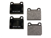 Mercedes Volvo Brake Pad Set - Textar 2103501