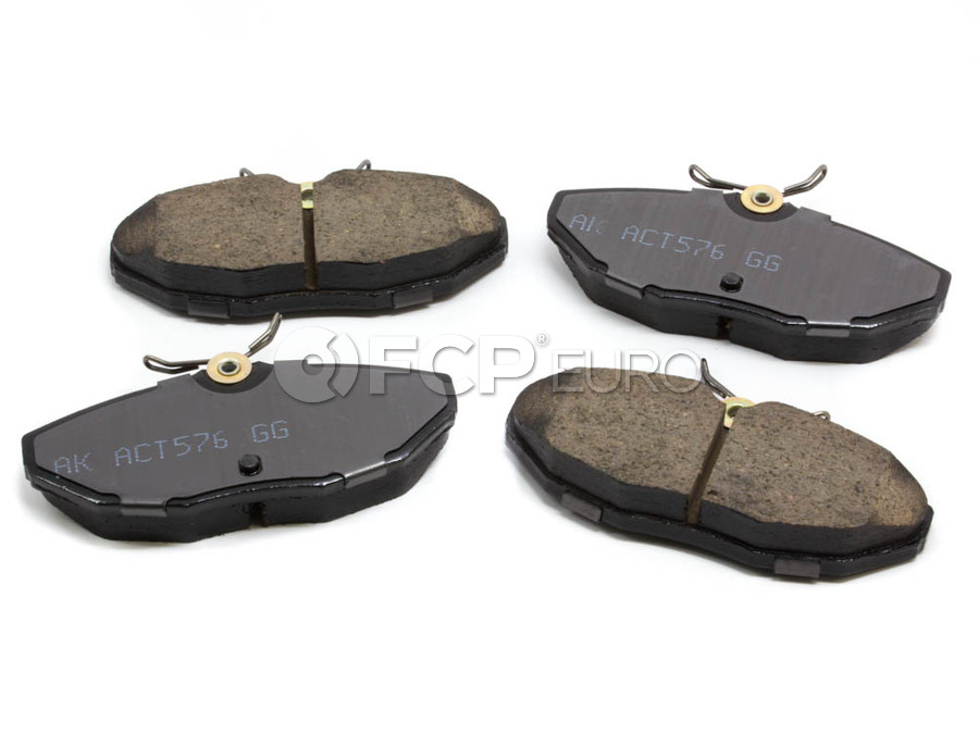 Jaguar Brake Pad Set - Akebono 5066478AA