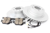 BMW Brake Kit - Zimmermann/Akebono 34216855005KTR3