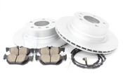 BMW Brake Kit - Zimmermann/Akebono 34216855005KTR1