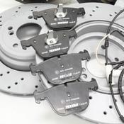 BMW Brake Kit - Zimmermann/Textar 34112283801KTFR
