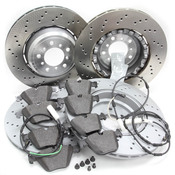 BMW Brake Kit - Zimmermann/Textar 34112283801KTFR