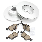 BMW Brake Kit - Zimmermann/Akebono 34116854998KTF1