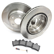 Mercedes Brake Kit - Zimmermann W220V12RBK