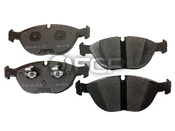 Audi VW Brake Pad Set - Textar 8D0698151D