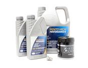 Audi VW 5W40 Synthetic Oil Change Kit V6 - Pentosin/Mann 511706