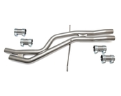 Audi VW Resonator Delete Kit 034Motorsport - 0341057040