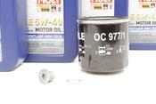 VW Audi Oil Change Kit 5W-40 - Liqui Moly KIT-04E115561H.4L