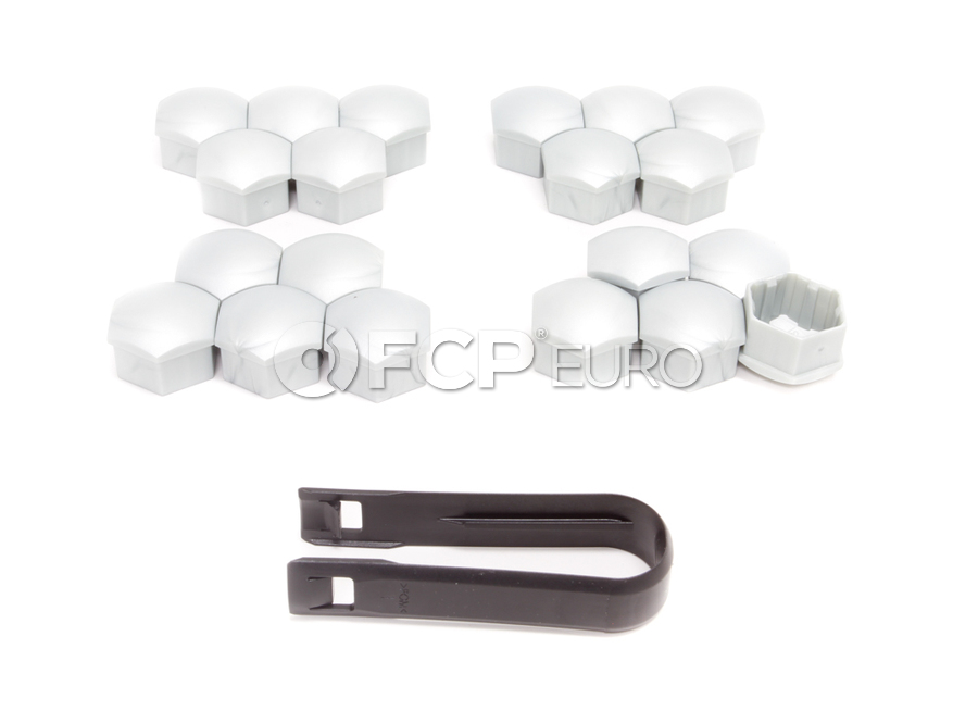 Volvo Lug Nut Cover Kit- Genuine Volvo 31445396KT