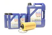BMW Oil Change Kit 5W-40 - Liqui Moly 11427510717KT1.LM