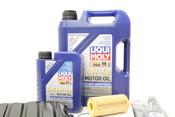 VW Oil Pan Kit with Oil - Genuine VW Audi / Liqui Moly 06J103600AMKT2
