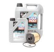 Volvo Oil Change Kit 0W-20 - Liqui Moly 521804