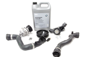 BMW Water Pump and Thermostat Replacement Kit - Graf 24-0432AKT5