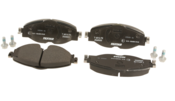 Audi VW Brake Pad Set - Textar 5Q0698151D