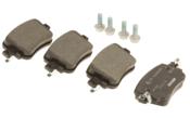Audi VW Brake Pad Set - Textar 7N0698451A