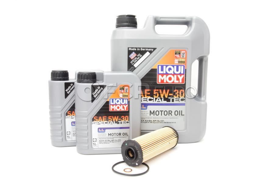 BMW Oil Change Kit 5W-30 - Liqui Moly 11428583898.LM