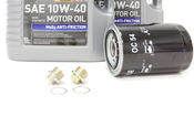 Porsche Oil Change Kit 10W-40 - Liqui Moly KIT-524662