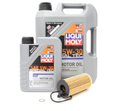 BMW 5W30 Oil Change Kit - Liqui Moly 11428575211KT1