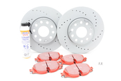 Audi VW Brake Kit - Zimmermann / EBC KIT-528851
