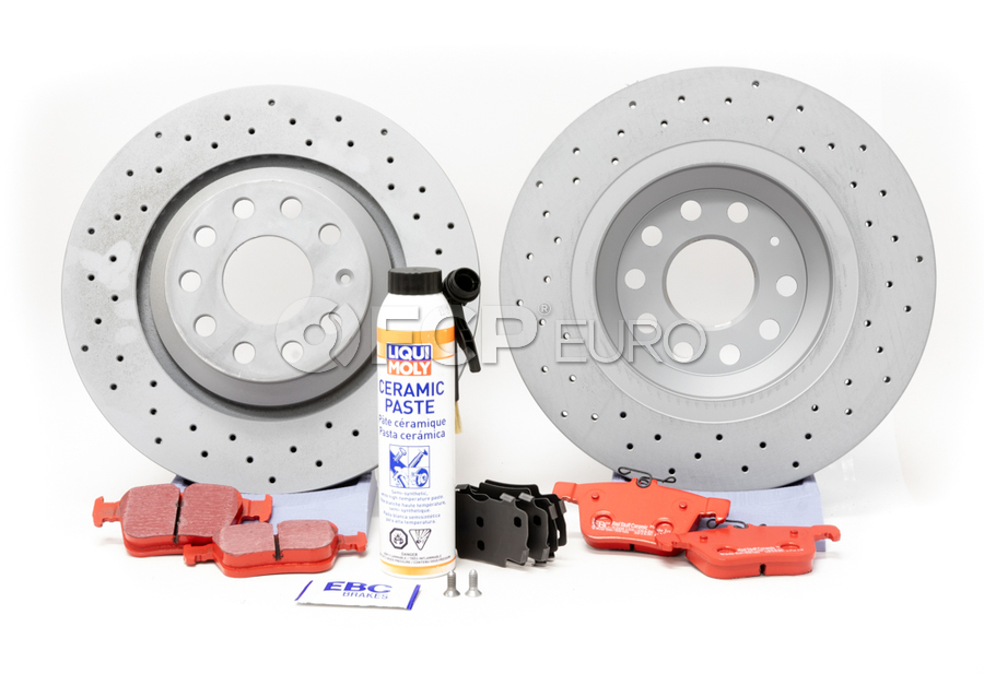 Audi VW Brake Kit - Zimmermann KIT-528837