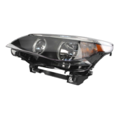 BMW Headlight Assembly w/o Adaptive - Hella 63127166115