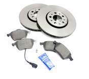 Audi VW Brake Kit - Zimmermann KIT-536234