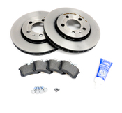 Audi VW Brake Kit - Zimmermann 536237
