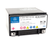 Mercedes Auxiliary Battery - Genuine Mercedes 0009829608
