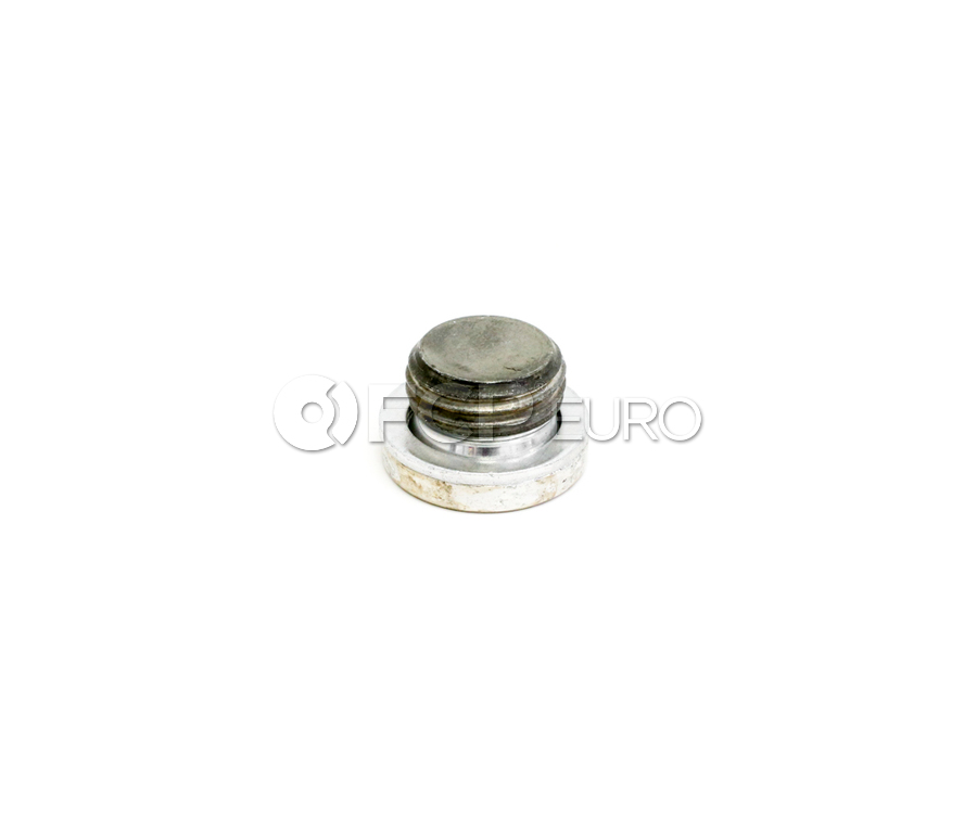 BMW Timing Cover Access Plug With Gasket Ring - Genuine BMW 11117533423