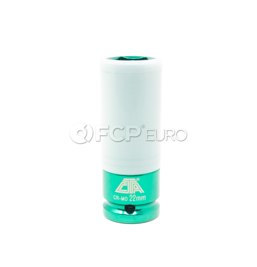 22mm Thin Wall Lug Nut Socket - CTA A180