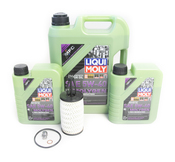 Mercedes Oil Change Kit 5W-40 - Liqui Moly Molygen 2761800009.7L.ML