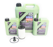 Mercedes Oil Change Kit 5W-40 - Liqui Moly Molygen 2761800009.7L.W222