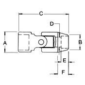 "10 Pc. 1/2"" Drive 6 Point Standard Impact Metric Socket Set - Gearwrench 84979"