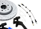 Volvo Big Brake Upgrade Kit 302MM - Zimmermann / Akebono KIT-509393