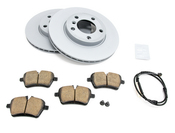 Mini Brake Kit - Zimmermann/Akebono 34119811538KTF