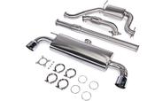 "VW Performance 3"" Turbo-Back Exhaust System - Unitronic UH018EXA"