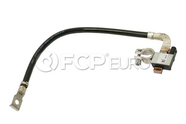 BMW Mini Negative Battery Cable With IBS - Hella 12427603567