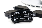 Mercedes Brake Kit - Genuine Mercedes 1724230112