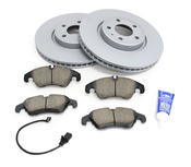 Audi VW Brake Kit - Zimmermann/Akebono 100335520KT