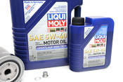 VW Oil Change Kit 5W-40 - Liqui Moly KIT-068115561B.6L