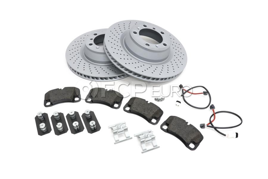 Porsche Brake Kit - Zimmermann/Textar 997BRKT15