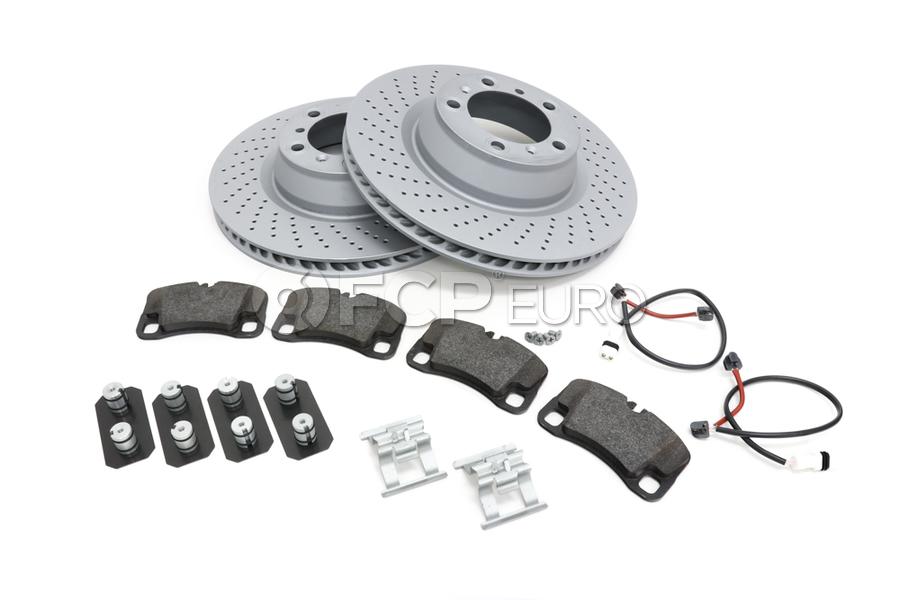 Porsche Brake Kit - Zimmermann/TRW 997BRKT17