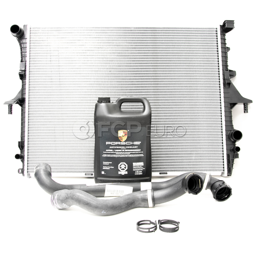 Porsche Radiator Kit - Behr/Genuine 376719001KT1
