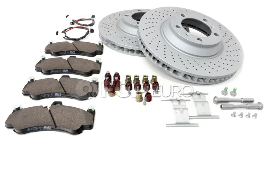Porsche Brake Kit - Zimmermann/TRW 997BRKT8