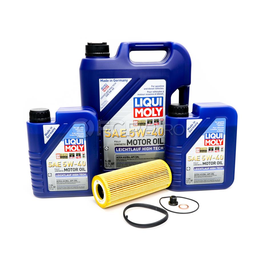 Audi VW Oil Change Kit 5W-40 - Liqui Moly KIT-06E115562C.7L