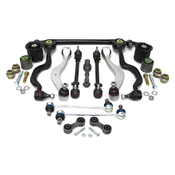 BMW 18-Piece Control Arm Kit - Lemforder KIT-E3418PIECEL