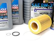 Volvo Oil Change Kit 0W-30 (+Additives) - Liqui Moly KIT-522282KT2