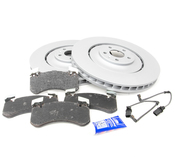 Audi VW Brake Kit - Zimmermann/Akebono 4H0615301ALKT